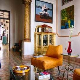Cuba colonial house designer Restored Cienfuegos Havana VIP