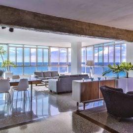Malecon Penthouse accommodations Havana VIP